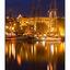 Tall Ships at Night - Vancouver Island