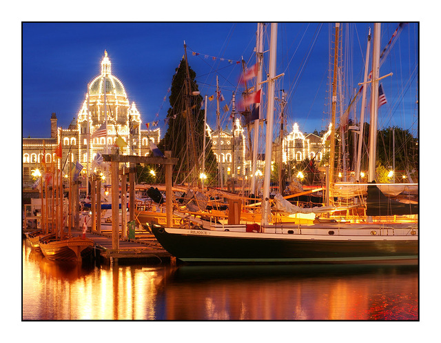 Victoria Inner Harbour Vancouver Island