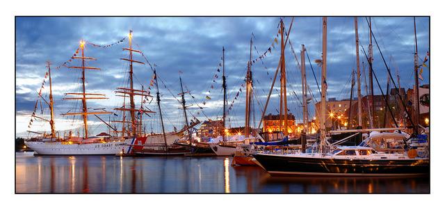 Tall Ships Pano Panorama Images