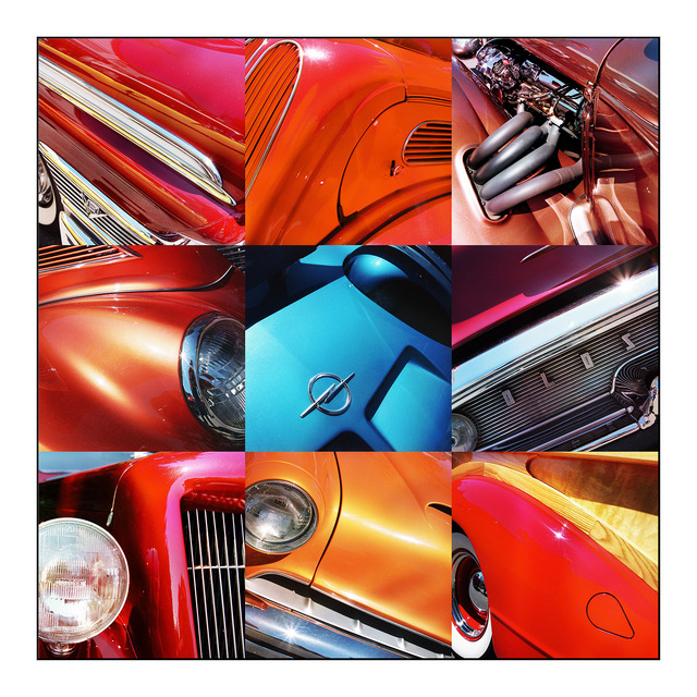 hot rod collage Automobile
