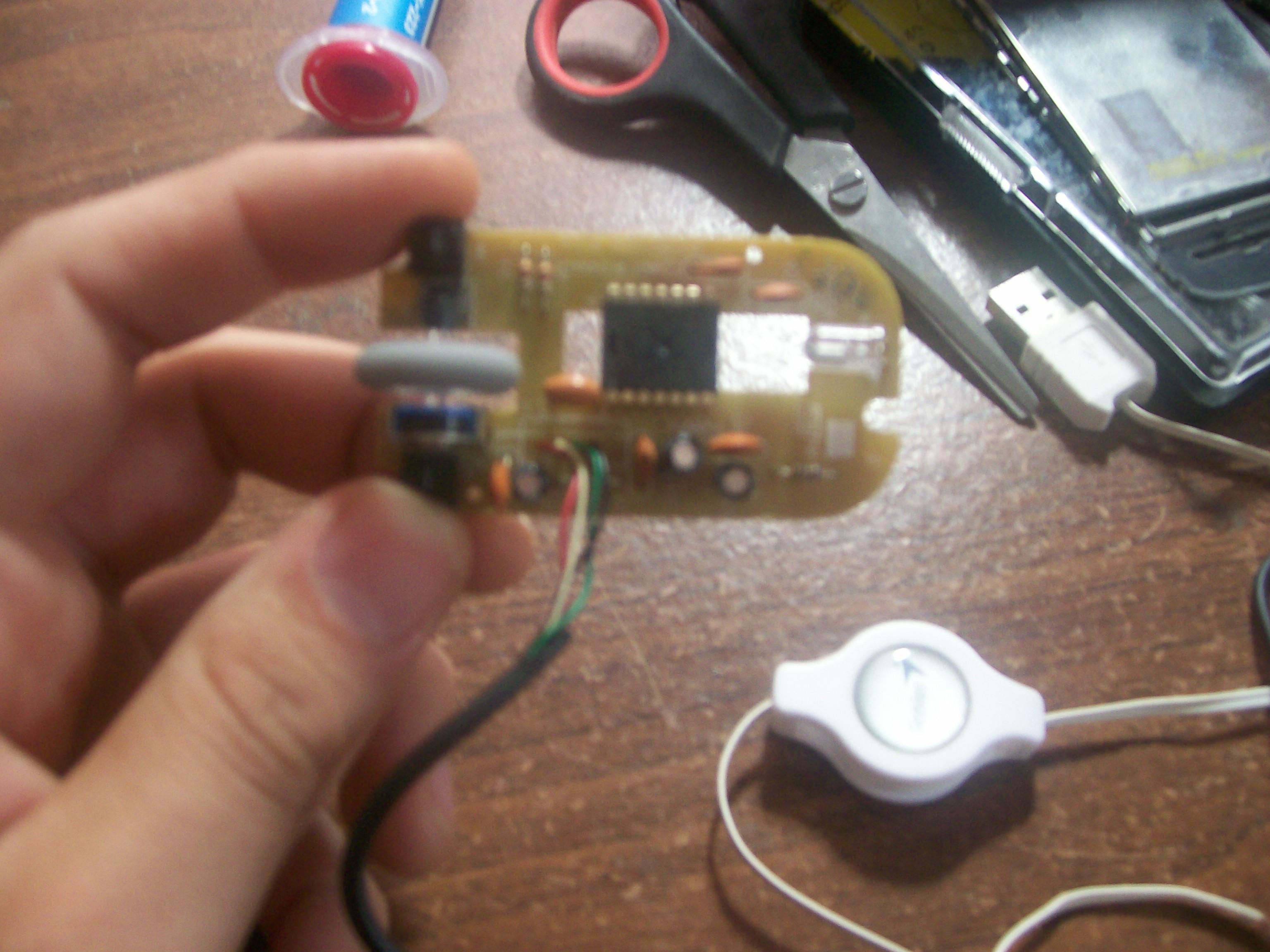 Reparar Mouse (Remplazar A Cable USB)