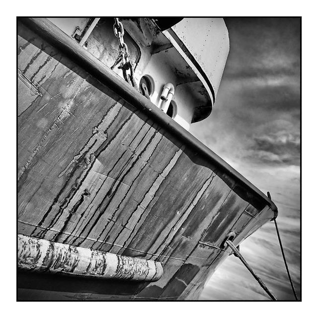 Comox Docks 4 2012 Black & White and Sepia