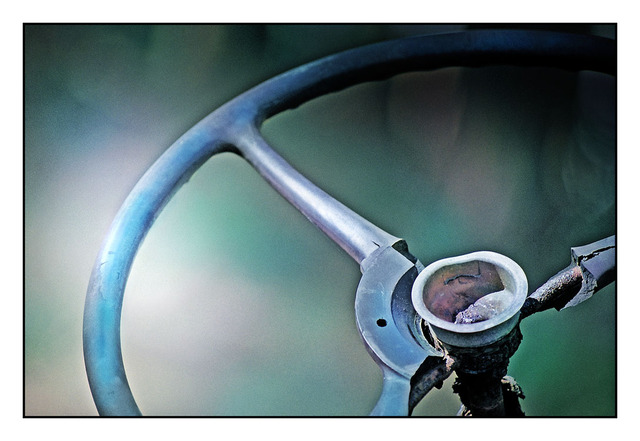 Old Steering Wheel Art2 35mm photos