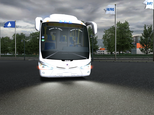 gts Scania Irizar PB 6x2 + interieur by LiNuX verv GTS BUSSEN
