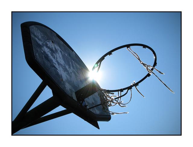 Old Hoop Abandoned