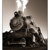 Mclean Mill Train 3 - Black & White and Sepia