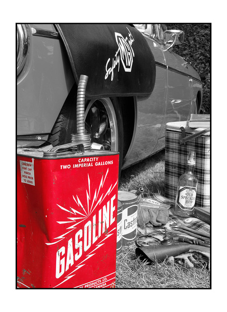 Gasoline Automobile